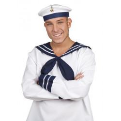 Marinemütze blau/weiß