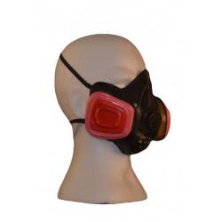 Gasmaske Maske aus Latex Halloween Karneval