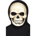 Totenkopf Maske aus Kunststoff