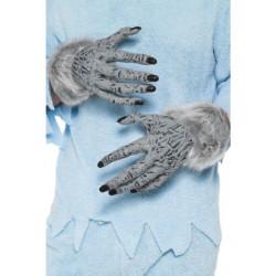 Werwolf Hände mit Fell