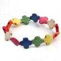 Farbenfrohes Schweizer Armband