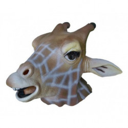 Giraffe Tiermaske aus Latex