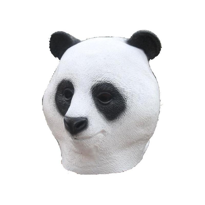 Latex Panda Maske