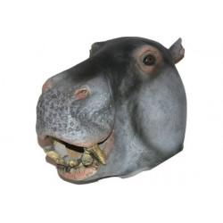 Nilpferd Maske Karnevalsmaske