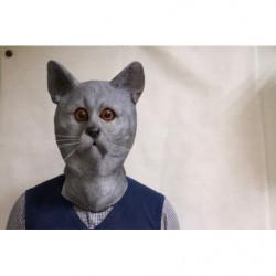 Katzen Maske Mietzekatze Maske