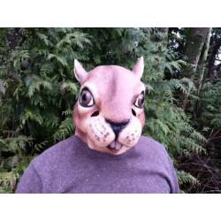 Eichhörnchen Maske Tiermaske