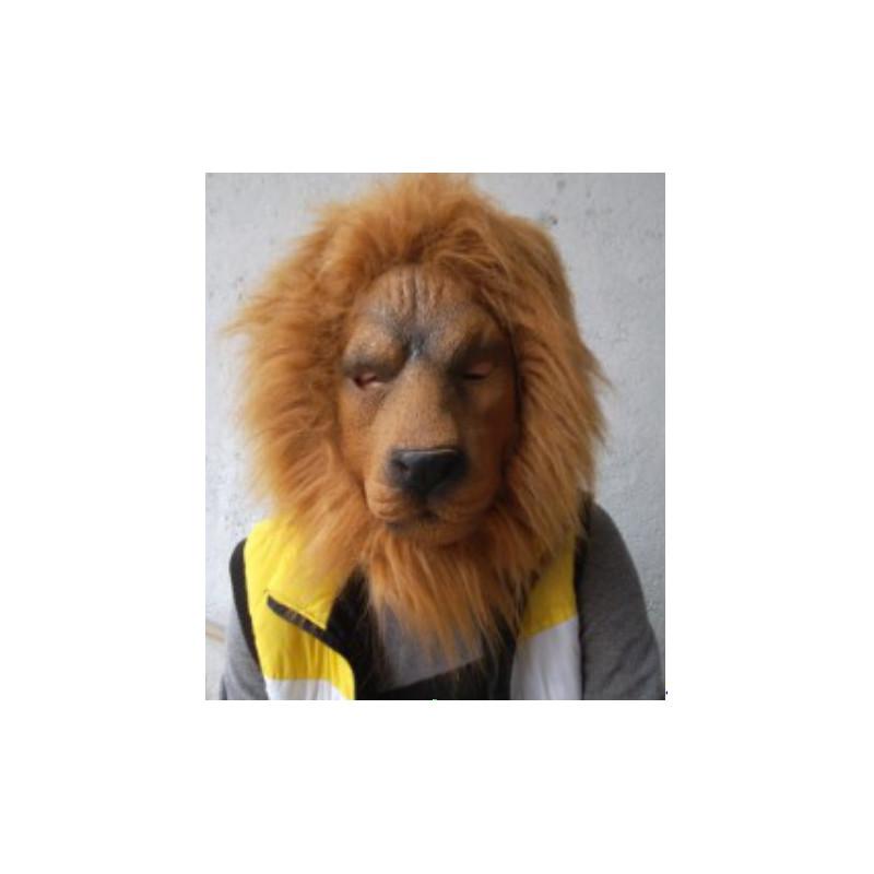Löwenmaske aus Latex