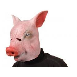Schweinemaske Sau Ferkel Maske Tiermaske
