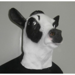 Kuh Maske aus Latex Weltneuheit !