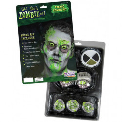 Toxische Zombie Kit Toxic Zombie