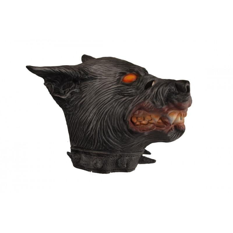 Hellhund Maske aus Latex