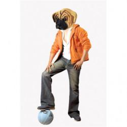 Hunde Maske aus Latex