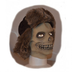 Totenkopf Maske aus Latex Deluxe