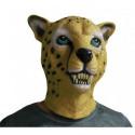 Leopard und Schneeleopard Maske