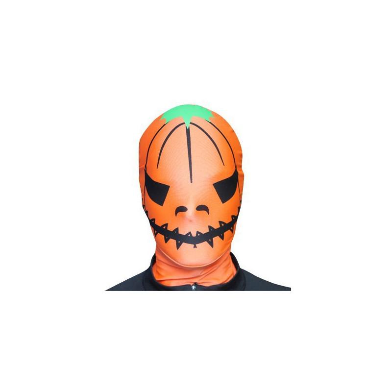 Morph Maske Kürbis Morphsuit Maske