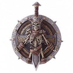 Barbaren Vikinger Krieger Schild mit Schwert