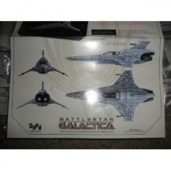 Battlestar Galactica Viper Mark II Model kit