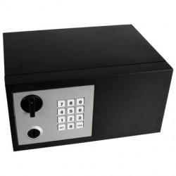 Mini Safe-Tresor mit elektronischem Code und Sicherheitsschlüssel