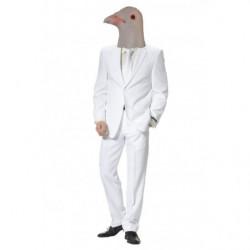 Tauben Maske aus Latex Taubenmaske