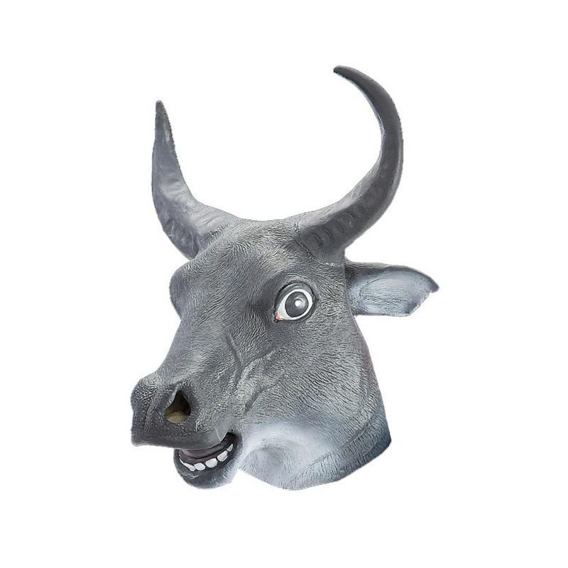 Stier Maske Kuh Tiermaske
