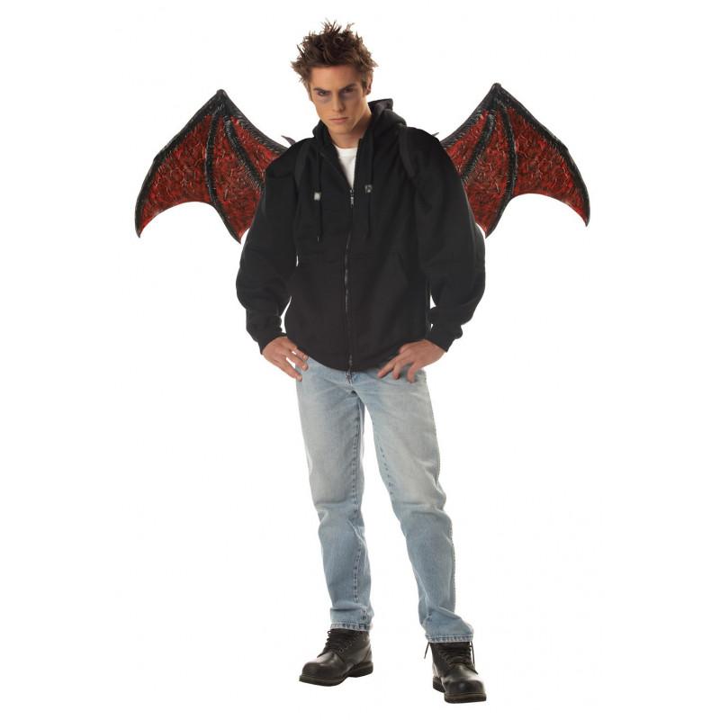 Teufelsflügel in rot