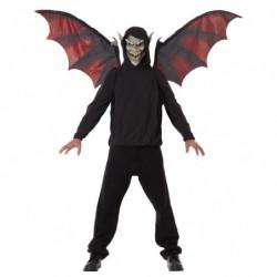 Vampire Maske mit Beweglichen Flügel