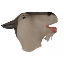 Tier Maske Ziege Ziegenmaske aus Latex