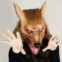 Werwolf Maske aus Latex