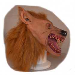 Werwolf Maske aus Latex