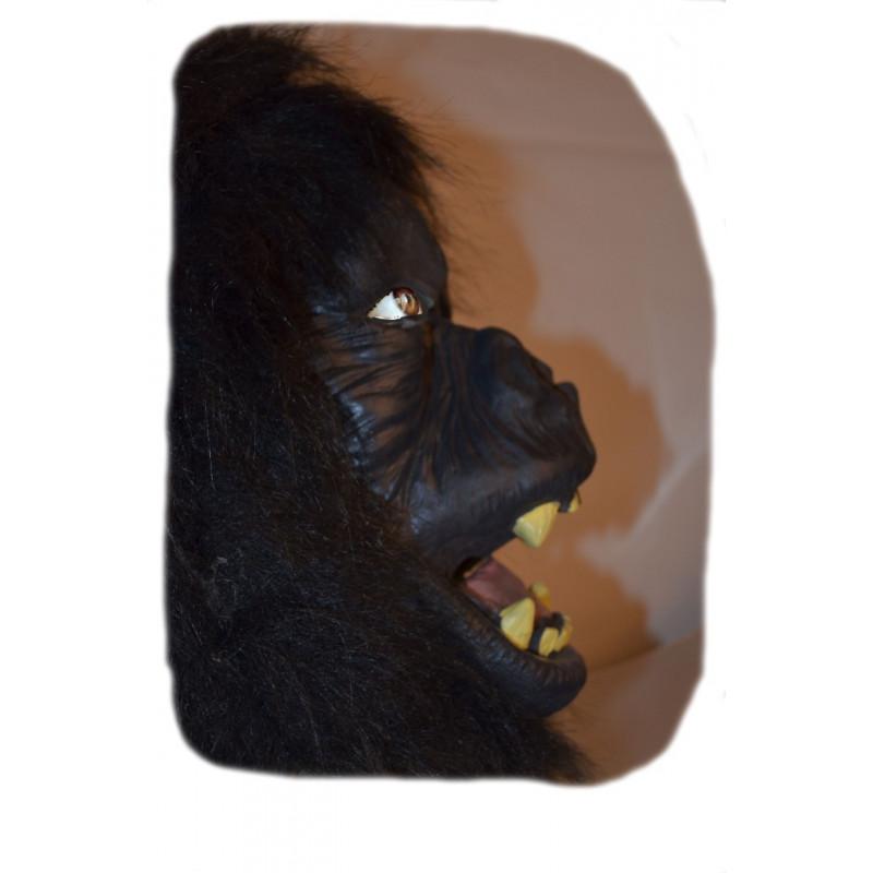 Gorilla Maske aus Latex Deluxe
