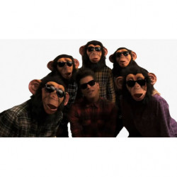 Bruno Mars Lazy Song Chimp Maske